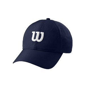 ULTRALIGHT TENNIS CAP 윌슨모자 NAVY