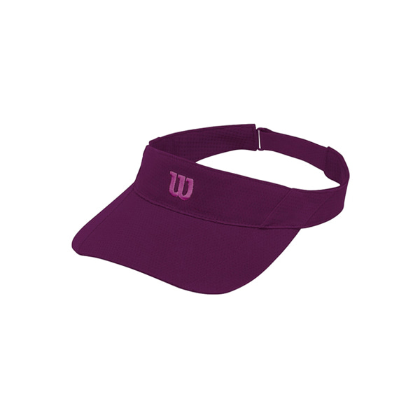 RUSH KNIT VISOR ULTRALIGHT OSFA 윌슨모자 DARK PURPLE