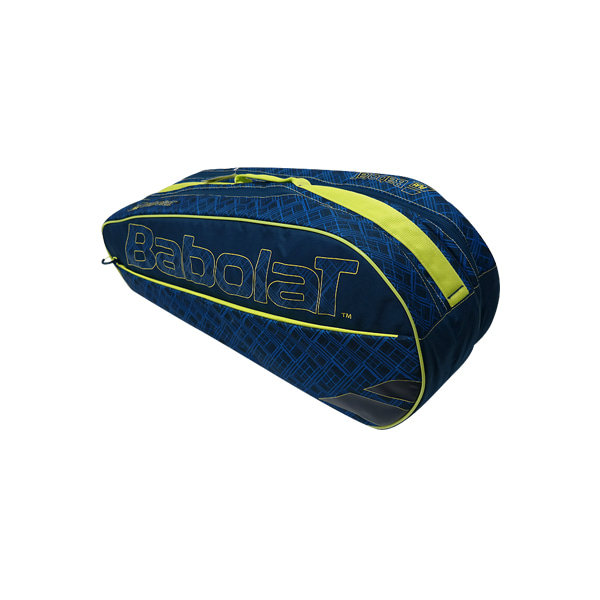 RACKET HOLDER X6 CLUB 바볼랏가방 BLUE YELLOW