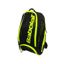 BACKPACK PURE BLACK FLUO YELLOW 바볼랏가방